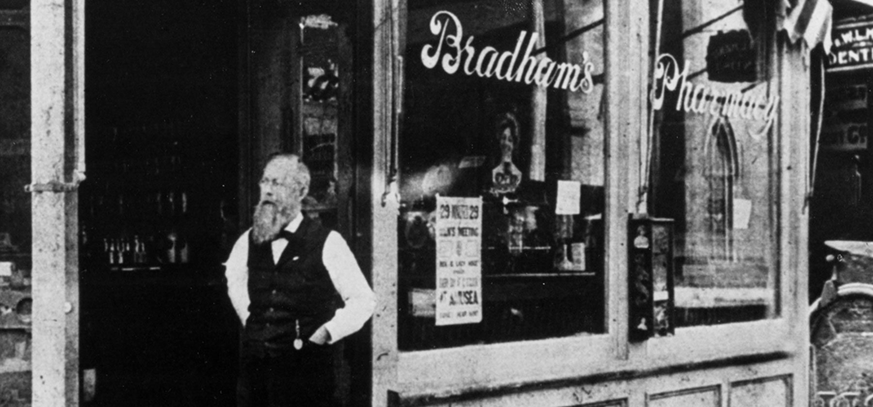 The Pharmacy Where Pepsi-Cola Was Served by Pepsi Inventor Caleb Bradham in Downtown New Bern, NC.
