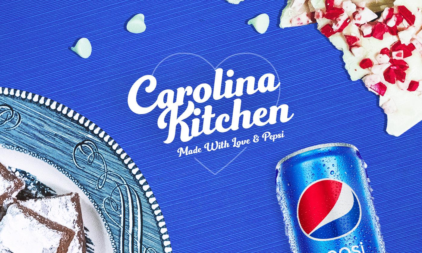 Easy Pepsi Holiday Recipes: Pepsi Snow-Dusted Fudge and Pepsi Peppermint Bark Hero Image